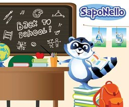 BACK TO SCHOOL with SapoNello